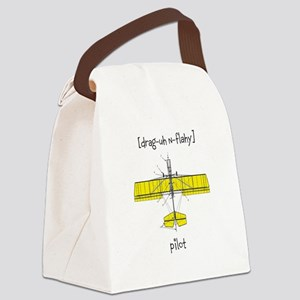 [drag-uh n-flahy] Canvas Lunch Bag